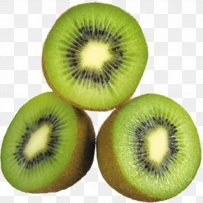 Green Cutted Kiwi Image - Kiwifruit Clip Art PNG