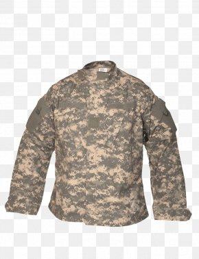 Uniform - T-shirt Army Combat Uniform MultiCam Coat PNG