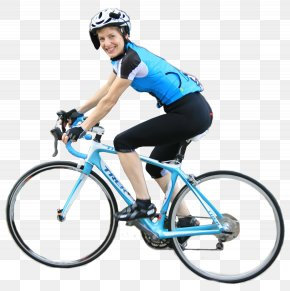 Woman On Bicycle Image - Bicycle Sharing System Cycling RAGBRAI PNG