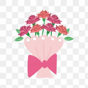 Mother's Day Gift - Floral Design Greeting & Note Cards Mother's Day Illustration PNG
