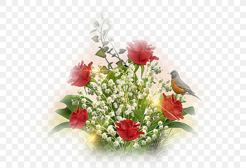 Garden Roses 1 May Lily Of The Valley Labour Day International Workers' Day, PNG, 600x561px, Garden Roses, Artificial Flower, Centrepiece, Chomikujpl, Cut Flowers Download Free