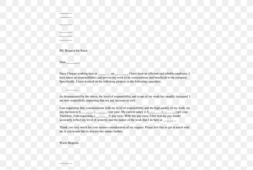Letter For Pay Increase from img.favpng.com