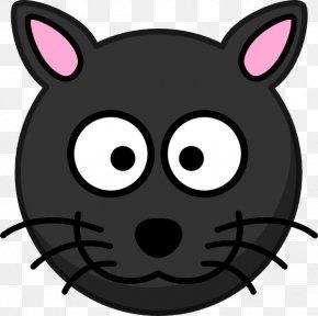 Cat Head Cliparts - Cat Kitten Cartoon Clip Art PNG