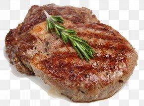 Cooked Meat - Sausage Beefsteak Ribs Rib Eye Steak PNG