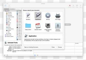 Slack Macos - Automator MacOS Finder Context Menu PNG