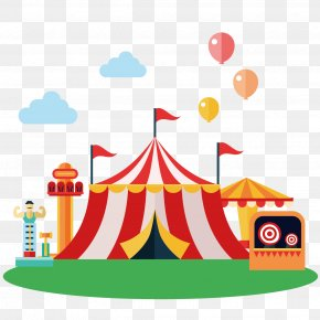 Circus Elements. - Circus Clip Art PNG