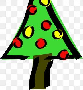 Christmas Tree - Clip Art Christmas Tree Vector Graphics Christmas Day Openclipart PNG