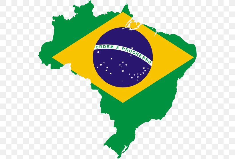 Independence Of Brazil Flag Of Brazil Map, PNG, 555x553px ...