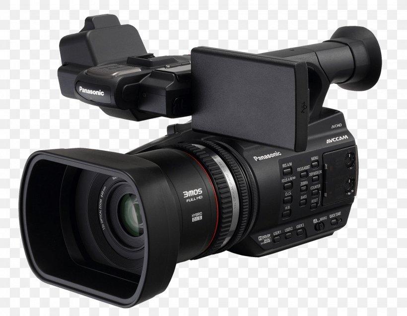 Professional Video Camera Panasonic, PNG, 2048x1591px, Panasonic, Avchd, Camera, Camera Accessory, Camera Lens Download Free