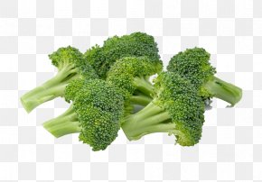 Fresh Fruits And Vegetables,broccoli - Broccoli Cauliflower Cabbage Vegetable PNG