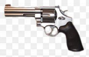 Gun - Revolver Firearm Handgun Pistol .44 Magnum PNG