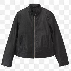 Jacket - Leather Jacket Coat PNG
