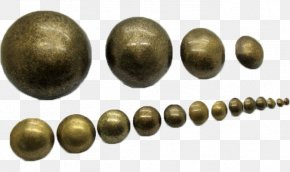 The Size Of A Pin Number - Drawing Pin Nail Brass PNG