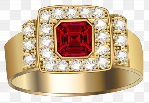 Jewelry Image - Jewellery Earring Ruby PNG