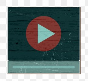 Rectangle Flag - Video Play Icon Film Icon Communication And Media Icon PNG