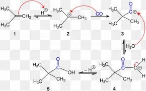 Koch Reaction Organic Chemistry Alkene PNG