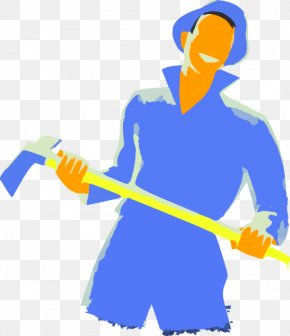 Axe - A Man With Axe Clip Art PNG