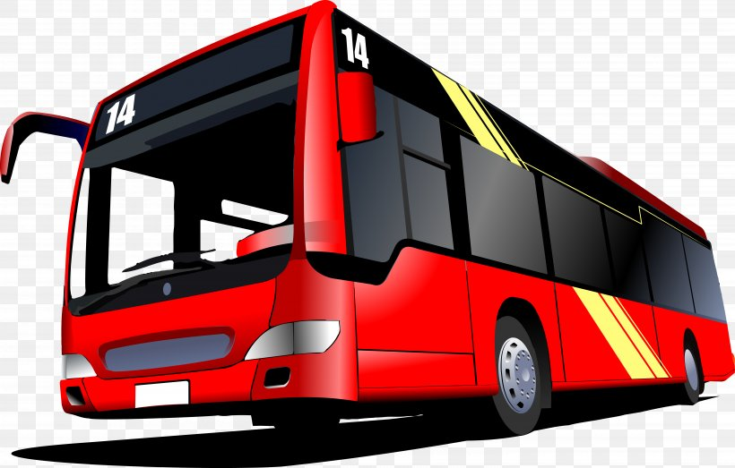 Bus Royalty-free Stock Photography Clip Art, PNG, 5960x3802px, Bus, Automotive Design, Cityscape, Coach, Commercial Vehicle Download Free