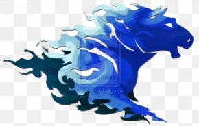 Blue Horse Fire - Horse Fire Flame Desktop Wallpaper PNG