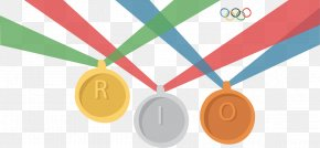 Vector Painted Medals - 2016 Summer Olympics Bronze Medal PyeongChang 2018 Olympic Winter Games Closing Ceremony Glenside Public Library District PNG