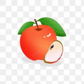 Ramadhan Food Cartoon Vector - Apple Cartoon Drawing Image Graphics PNG