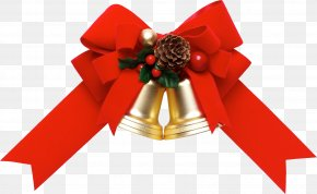 Ribbon - Ribbon Christmas Gift Wrapping Clip Art PNG