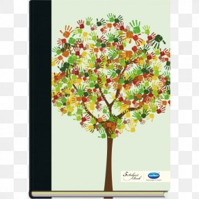 Tree - Tree Hand Paper Fingerprint PNG