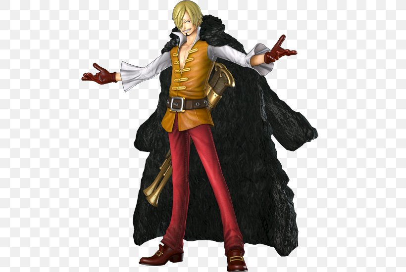 One Piece: Pirate Warriors 3 One Piece: Pirate Warriors 2 Monkey D. Luffy Vinsmoke Sanji, PNG, 491x550px, One Piece Pirate Warriors, Action Figure, Costume, Costume Design, Fictional Character Download Free