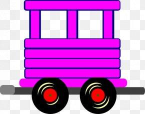 Train - Train Rail Transport Passenger Car Boxcar Clip Art PNG