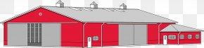 Barn - Barn Roof Pole Building Framing Clip Art PNG