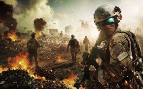Battlefield - Battlefield 4 Battlefield: Bad Company 2 Battlefield 1 Desktop Wallpaper High-definition Television PNG