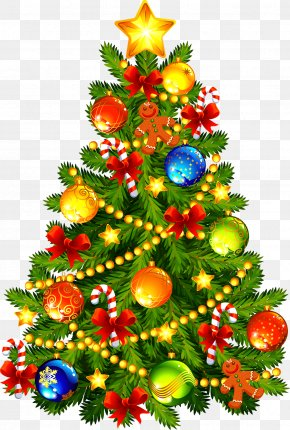 Christmas Tree - Christmas Tree Christmas Decoration Christmas Ornament Clip Art PNG