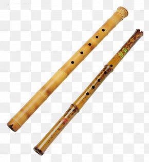 Flute - Bamboo Musical Instruments Flute PNG
