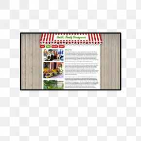 Greengrocer - Advertising Picture Frames Brand Rectangle PNG
