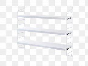 WHITE SHELF - Sweden Shelf Hylla Furniture String-Bücherregalsystem PNG