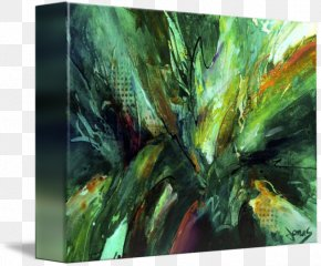 Painting - Painting Canvas Gallery Wrap Tree Jungle Love PNG