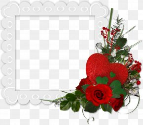 Flower Edge - Photography Picture Frames PNG