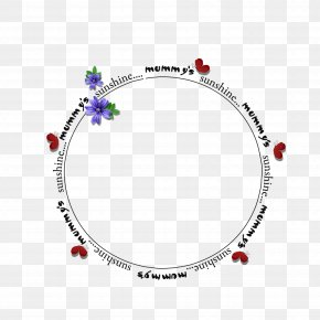Round Frame - Picture Frame PNG