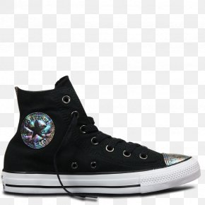 Oil Slick - Chuck Taylor All-Stars Converse High-top Sneakers Shoe PNG