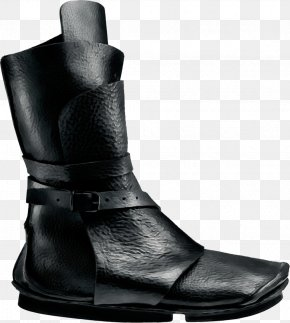 Motorcycle Boot Leather - Footwear Boot Shoe Black Work Boots PNG