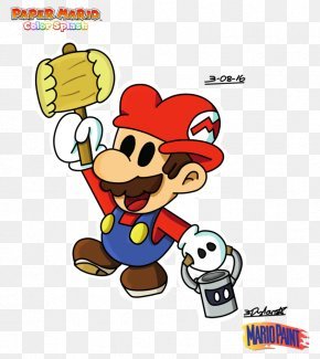 Caramel Splash - Paper Mario: Color Splash Super Mario Bros. PNG