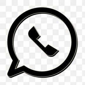 Sign Blackandwhite - Chat Icon Logo Icon Media Icon PNG
