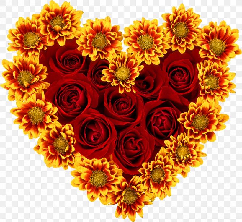 Common Sunflower Rose Heart Desktop Wallpaper Png 1200x1100px Flower Chrysanths Common Sunflower Computer Cut Flowers Download
