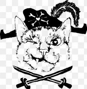 Pirate Cat Cliparts - Cat Kitten Twentynine Palms T-shirt Piracy PNG