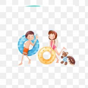 Children Go Swimming PNG