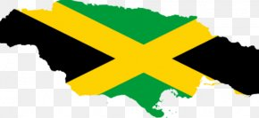 Map - Flag Of Jamaica Map National Flag Clip Art PNG