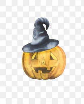 Halloween Pumpkin - Jack-o-lantern Calabaza Halloween Pumpkin Hat PNG