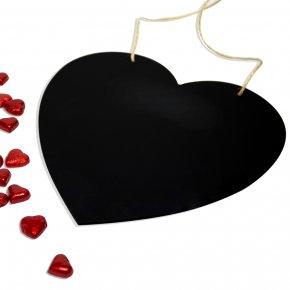 Chalkboard Cliparts Shape - Blackboard Shape Heart Clip Art PNG