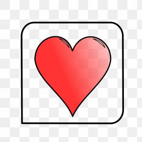 Gambling Pictures - Contract Bridge Heart Playing Card Suit Clip Art PNG