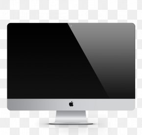 Apple Computer - LED-backlit LCD Apple Computer Monitor Display Device PNG
